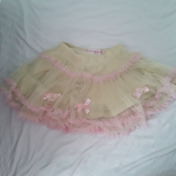 Jona Michelle Baby Girls Bright Pink Pastel Tutu
